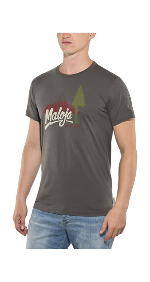Maloja FreddyM. T-Shirt Men charcoal